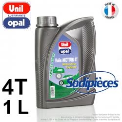 Huile moteur 4 temps Uni Opal pour motoculture. 1 litre