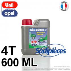 Huile moteur 4 temps Uni Opal pour motoculture. 600 ml