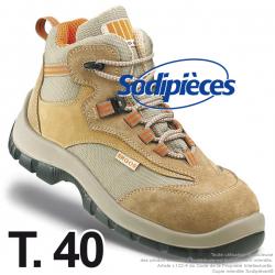 Chaussures de sécurité Majorque. Tout terrain doublure ultra respirante T.40