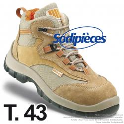 Chaussures de sécurité Majorque. Tout terrain doublure ultra respirante T.43