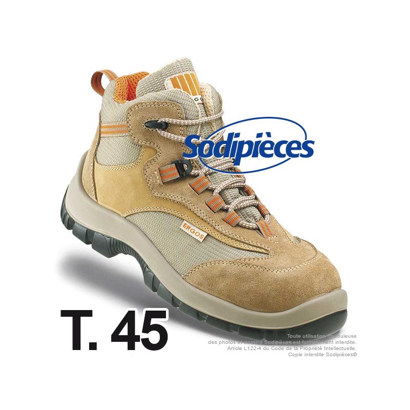 Chaussures de sécurité Majorque. Tout terrain doublure ultra respirante T.45