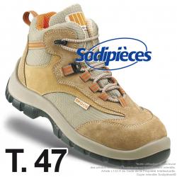 Chaussures de sécurité Majorque. Tout terrain doublure ultra respirante T.47