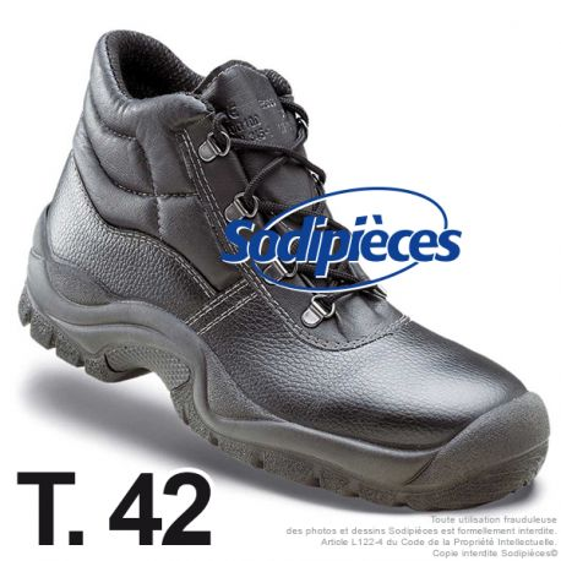 Chaussures de sécurité Dakar, tradition taille 42