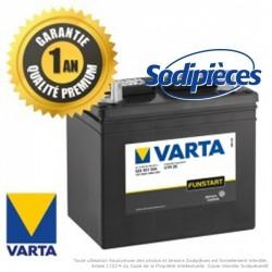 Batterie U1R9 VARTA. Sans entretien. Batterie tondeuse.