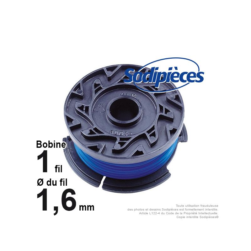 Bobine de fil pour black decker a6481 - Bobine de fil pour coupe bordure black et decker ...