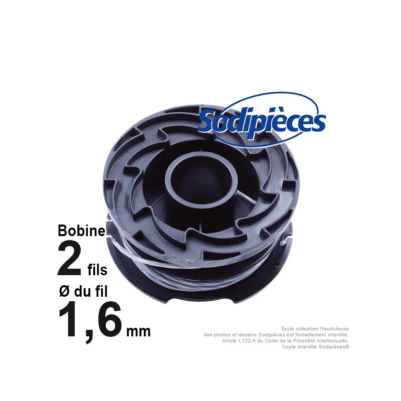 bobine de fil pour black decker a6441. Black Bedroom Furniture Sets. Home Design Ideas