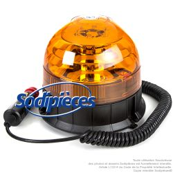 Gyrophare à LED magnétique
