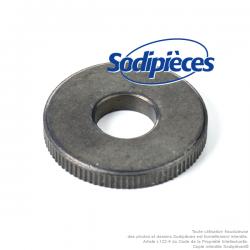 Rondelle reduction lame universelle alésage 9,5 mm. Diam ext 25,4 mm