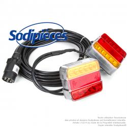 Feux arrières LED magnétique