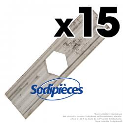 Couteaux scarificateurs pour Sabo n° origine 16762. Jeu de 15