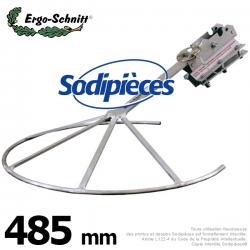 Entretoise repliable pour débroussailleuse Ergo-Schnitt 485 mm
