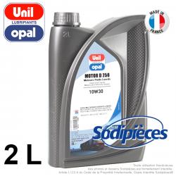 Huile moteur D250 10W30 Unil Opal. 2 litres
