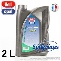 Lubrifiant Jardin Uni Opal. 2 litres