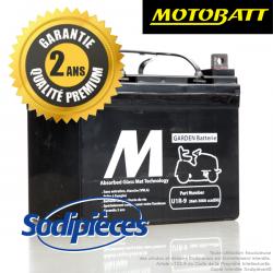 Batterie Motobatt U1R-9 pour tondeuse