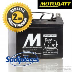 Batterie Motobatte U1-9 pour tondeuse