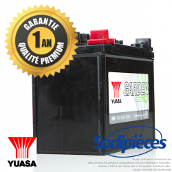 Batterie de tondeuse YUASA Garden 12N24-4A