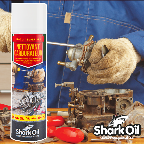 nettoyant carburateur shark oil a rosol de 500 ml ebay. Black Bedroom Furniture Sets. Home Design Ideas
