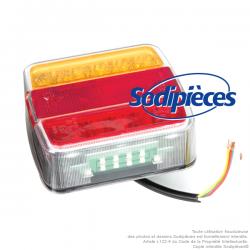 Feux arrières 4 fonctions LED