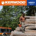 """Chaîne tronçonneuse KERWOOD 56 maillons 0.325"""" , 1,5 mm, modèle semi carrée"""