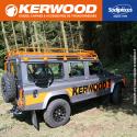 """Guide+chaine tronçonneuse Kerwood. 35cm,3/8""""LP, 1,3 mm"""