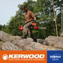 """Guide tronçonneuse kerwood. 40cm. 3/8"""". 1,5 mm. 16A3KSWC"""