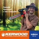 """Guide+chaine tronçonneuse Kerwood. 40cm,3/8""""LP 1,3 mm"""