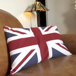 """A partir de de 450 € H.T : Un coussin """"So British"""" offert  !"""