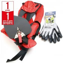 1 harnais pro universel débroussailleuse + 1 paire de gants Super Résiste HanderGreen OFFERTE
