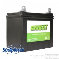 Batterie U1R9. Sans entretien pour tondeuse