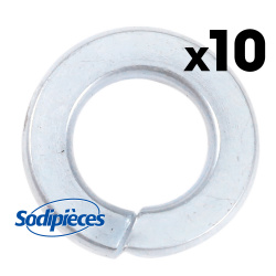 Rondelle frein Ø 10 mm. Par 10