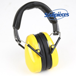 Casque de protection anti bruit. Jaune. 22,9 dB