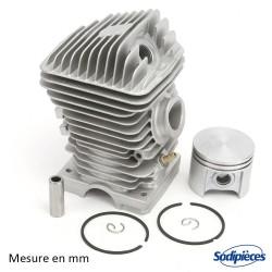 Cylindre piston tronçonneuse Stihl 025/MS250 Ø 42,5 mm