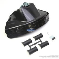 Protecteur de débroussailleuse Tecomec avec coupe fil. Moyen modèle