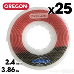 Fil débroussailleuse Oregon Gator® SpeedLoad™ 2,4 mm x 3,86 m par 25