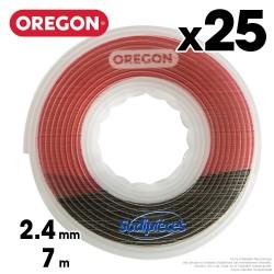 Fil débroussailleuse Oregon Gator® SpeedLoad™ 2,4 mm x 7 m par 25