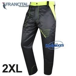 Pantalon anticoupure tronçonneuse. Francital. Taille 2XL