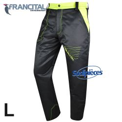 Pantalon anticoupure tronçonneuse. Francital. Taille L