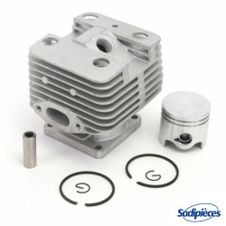 Cylindre piston tronçonneuse Husqvarna/Partner diam 51 mm