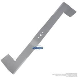 Lame tondeuse 71,5 cm. Al. 12,5 mm. Pour Iseki