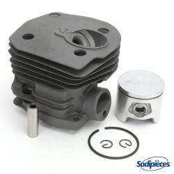 Cylindre piston pour tronconneuse Husqvarna 340, 345, 350. Ø 44 mm. 503 86 99 71