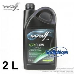 Huile moteur Wolf Agriflow 4T 10W30 2L