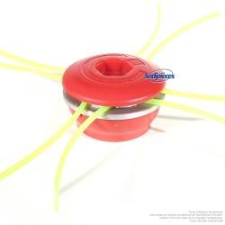 Tête débroussailleuse Multi-fils araignée alu/nylon 8 fils