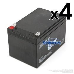 Batterie de démarrage 12V. 12 Ah