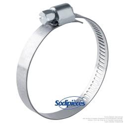 Collier Serflex BA. Larg 8 mm, Ø sérrage 14 à 24 mm
