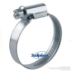 Collier Serflex BP. Larg 8 mm Ø sérrage 16 à 27 mm