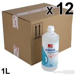 Solution hydro-alcoolique Unil Opal. bidon 1L. Carton de 12