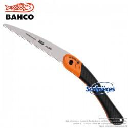 Scie couteau d'élagage pliante trempée Hardpoint. 396-HP Bahco Pradines. Pro. Fabriqué en France
