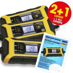 2 chargeurs de batterie ARTIC 4000 + 1 OFFERT + 1 PLV OFFERTE