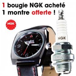 100 bougies NGK achetées, une montre offerte !