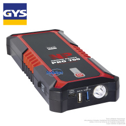 Booster lithium 12V 600A. Nomad Power Pro 700 GYS